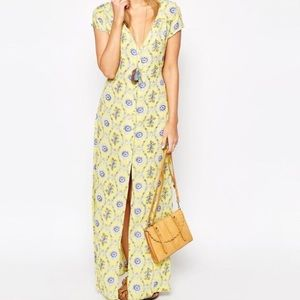 Flynn Skye Eterie Maxi Dress Yellow Delight dress